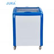 SD/SC-150Y 150Liter Curved Glass Door Solar Ice Cream Freezer