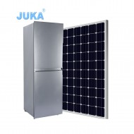 BCD-270 270Liter DC 12V 24V Upright Bottom Freezer Solar Refrigerator