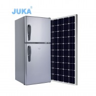 BCD-118 118Liter DC 12V 24V Upright Top Freezer Solar Refrigerator