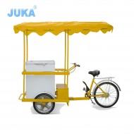158Liter Solar Ice Cream Tricycle