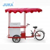 208Liter Solar Ice Cream Tricycle